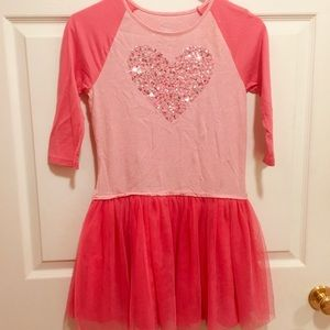 Heart Bling Tutu Dress XL